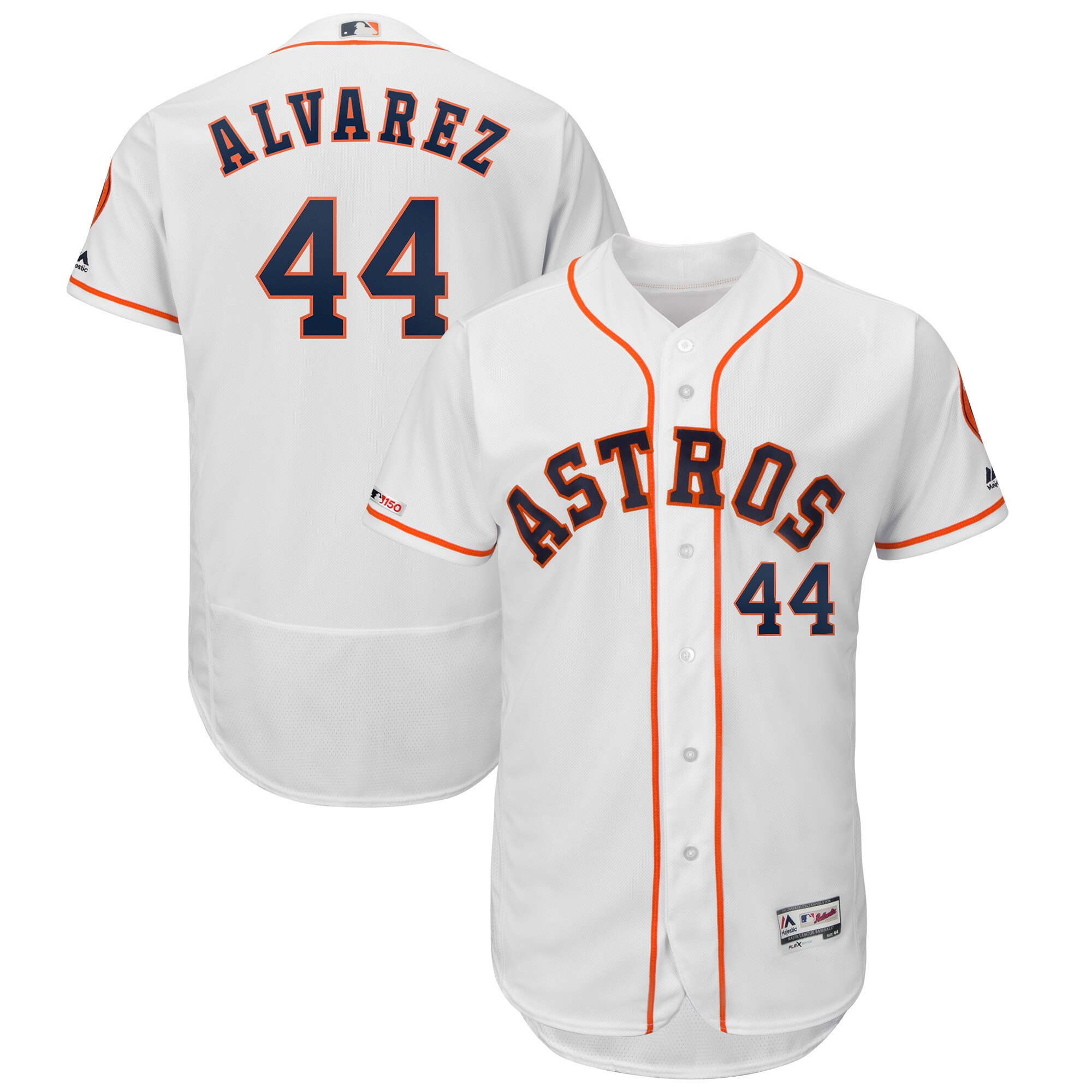 Men's Houston Astros Yordan Álvarez White Collection Flex Base Player Jersey