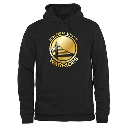 Golden State Warriors Gold Collection Pullover Hoodie Black