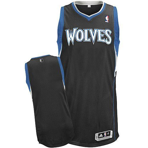 8ea66245ea20 Revolution 30 Timberwolves Blank Black Stitched NBA Jersey