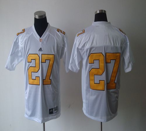 Vols #27 Arian Foster White Stitched NCAA Jersey