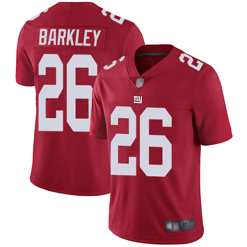 Nike Giants #26 Saquon Barkley Red Men's Stitched NFL Limited In