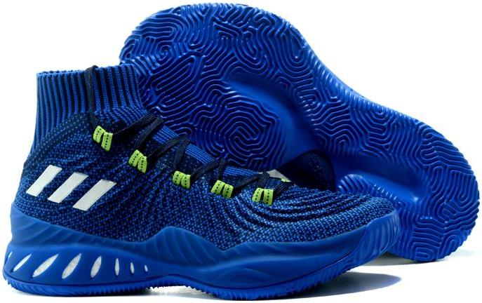 adidas Crazy Explosive 2017 Primeknit Deep Blue For Sale