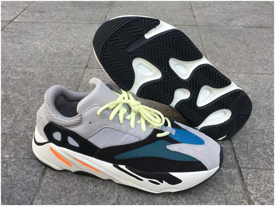 adidas Yeezy Wave Runner 700 Solid Grey/Chalk White-Core Black For Sale
