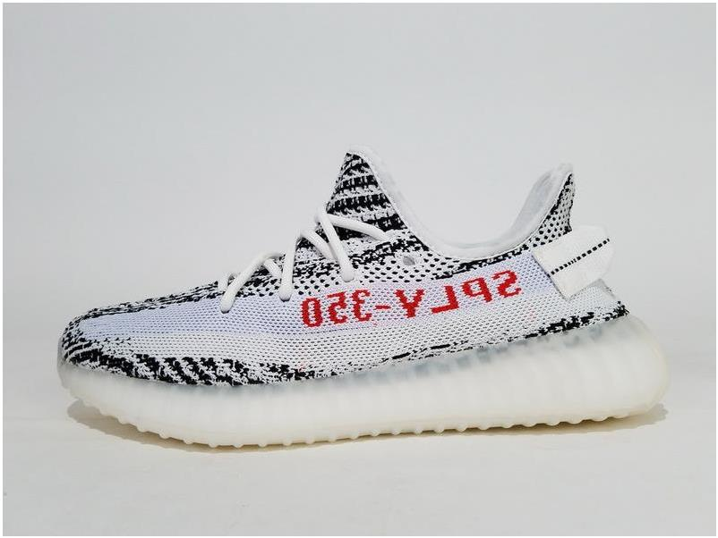 Adidas Yeezy Boost 350 V2 Zebra -White/Core Black/Red+Video