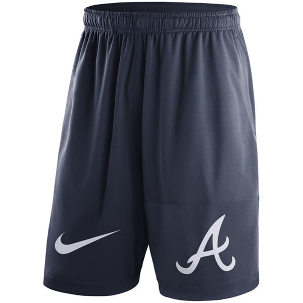 Men's Atlanta Braves Nike Navy Dry Fly Shorts