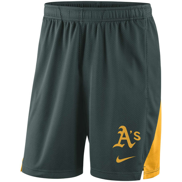 Men's Oakland Athletics Green Franchise Performance Shorts
