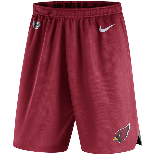 Men's Arizona Cardinals Nike Red Knit Performance Shorts