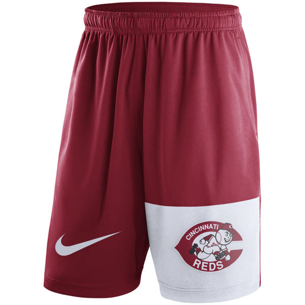 Men's Cincinnati Reds Nike Red Cooperstown Collection Dry Fly Shorts