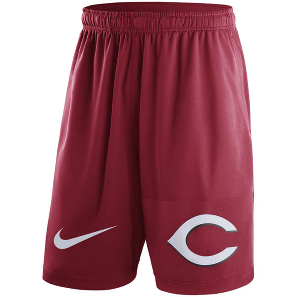 Men's Cincinnati Reds Nike Red Dry Fly Shorts