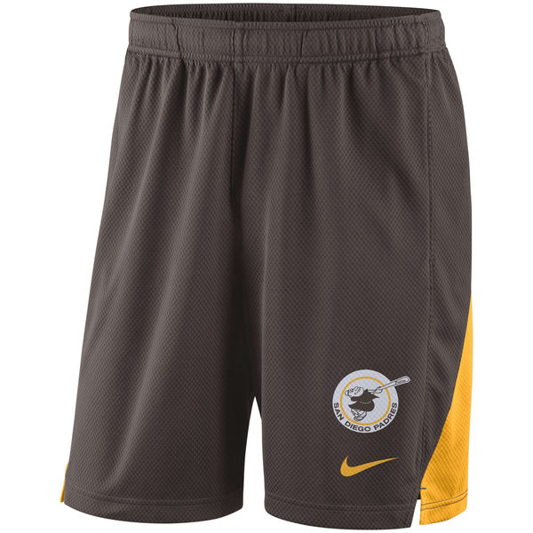 Men's San Diego Padres Brown Franchise Performance Shorts