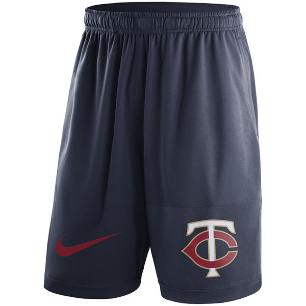 Men's Minnesota Twins Nike Navy Dry Fly Shorts