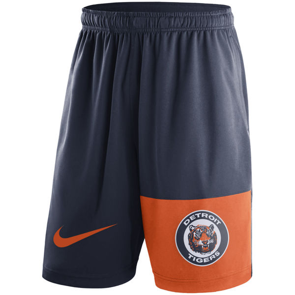 Men's Detroit Tigers Nike Navy Cooperstown Collection Dry Fly Shorts