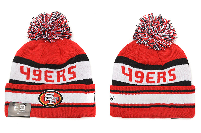 NFL San Francisco 49ers Stitched Knit hats 012