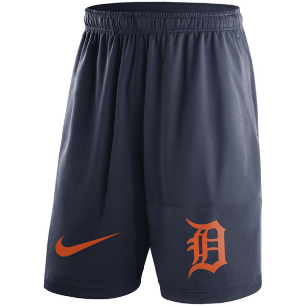 Men's Detroit Tigers Nike Navy Dry Fly Shorts