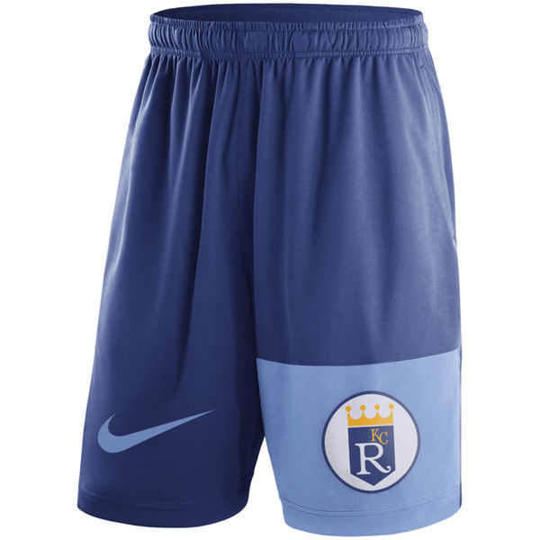 Men's Kansas City Royals Nike Royal Cooperstown Collection Dry Fly Shorts