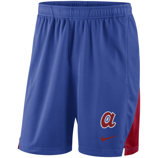 Men's Atlanta Braves Royal Franchise Performance Shorts