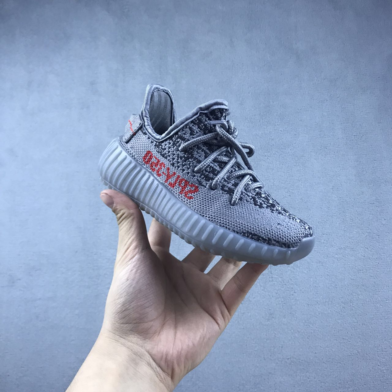 New Kids Yeezy Boost 350 gray