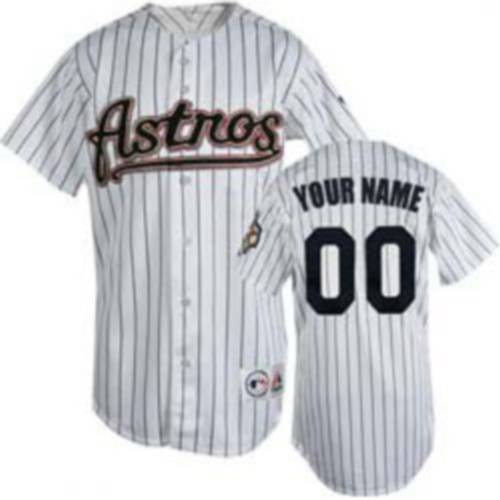 Astros Personalized Authentic White MLB Jersey (S-3XL)