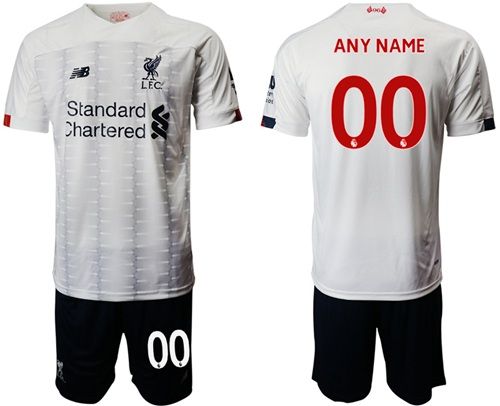 Liverpool Personalized Away Soccer Club Jersey