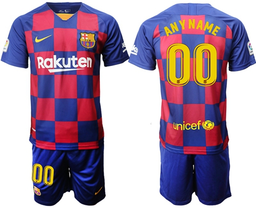 Barcelona Personalized Home Soccer Club Jersey