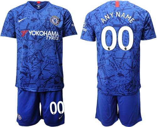 Chelsea Personalized Home Soccer Club Jersey
