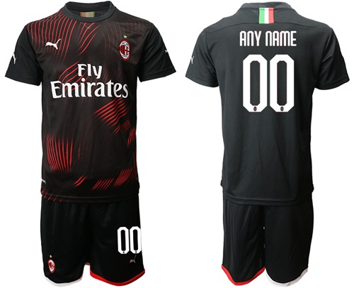 AC Milan Personalized Third Soccer Club Jersey