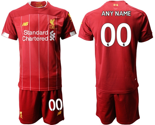 Liverpool Personalized Home Soccer Club Jersey