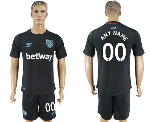 West Ham United Personalized Away Soccer Club Jersey