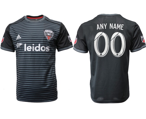 D.C. United Personalized Home Soccer Club Jersey