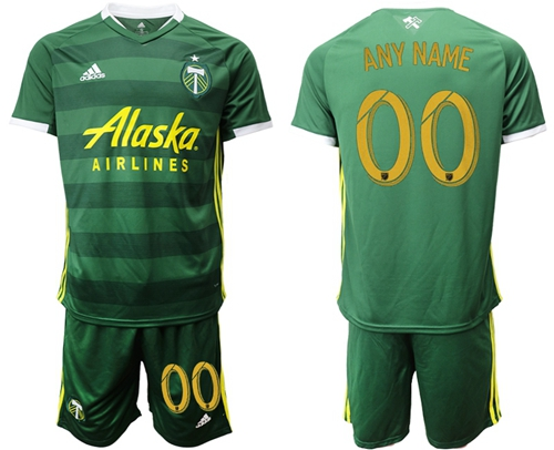Portland Timbers Personalized Home Soccer Club Jersey