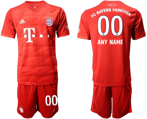 Bayern Munchen Personalized Home Soccer Club Jersey