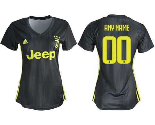 Women's Juventus Personalized Third Soccer Club Jersey