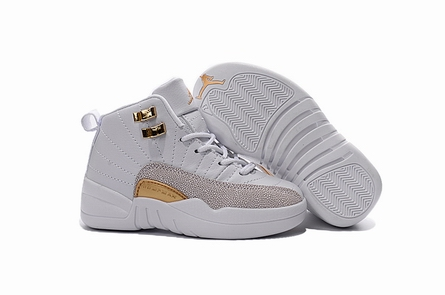 kid air jordan 12 retro 130690-008