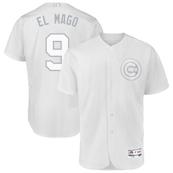 Chicago Cubs #9 Javier Baez El Mago Majestic 2019 Players' Weekend Flex Base Authentic Player Jersey White