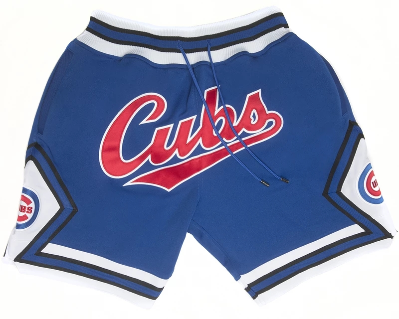 Chicago Cubs Shorts (Royal) JUST DON By Mitchell & Ness