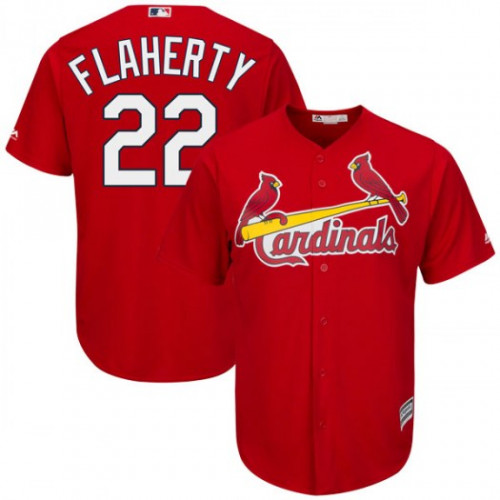 Cardinals #22 Jack Flaherty Red New Cool Base Stitched MLB Jersey