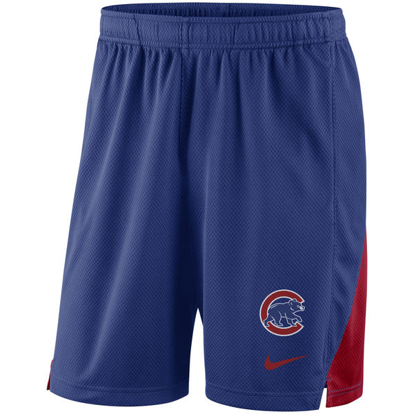 Men's Chicago Cubs Royal Franchise Performance Shorts