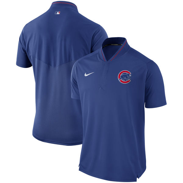 Men's Chicago Cubs Royal Authentic Collection Elite Performance Polo