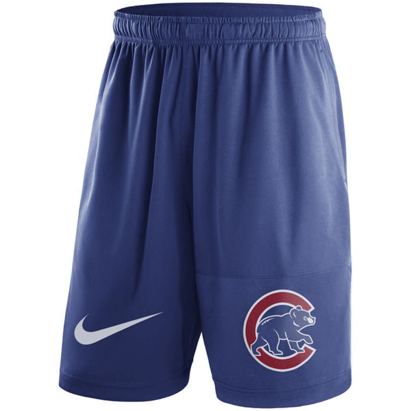 Men's Nike Royal Chicago Cubs Dry Fly Shorts