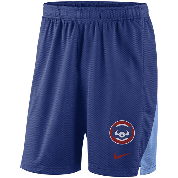 Men's Chicago Cubs Royal Franchise Throwback Performance Shorts