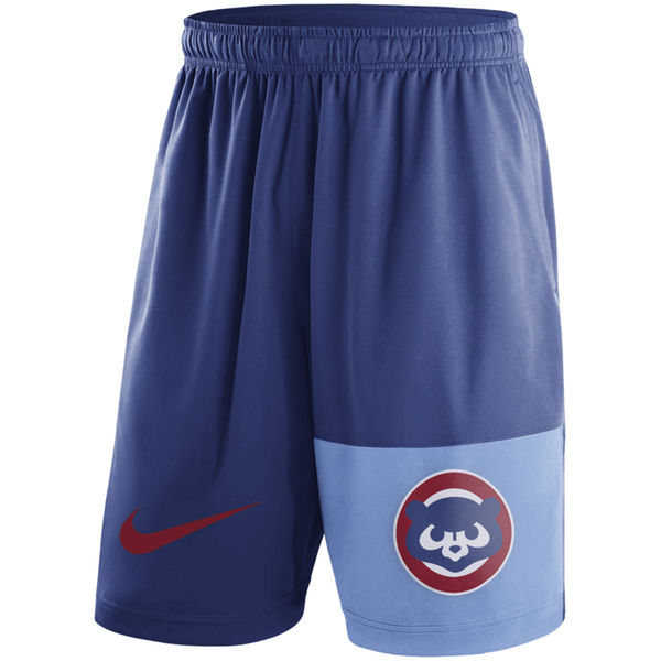 Men's Nike Royal Chicago Cubs Cooperstown Collection Dry Fly Shorts