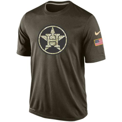 Men's Houston Astros Salute To Service Nike Dri-FIT T-Shirt