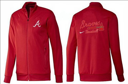 MLB Atlanta Braves Zip Jacket Red