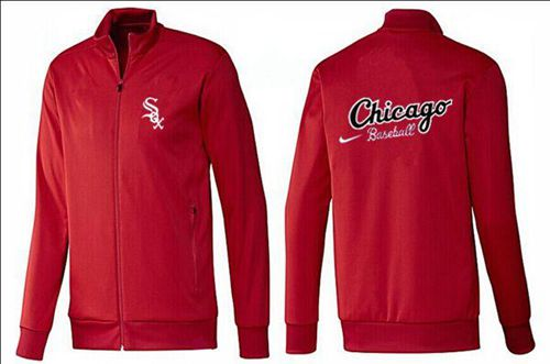 MLB Chicago White Sox Zip Jacket Red