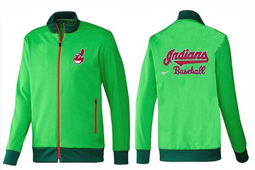 MLB Cleveland Indians Zip Jacket Green_1