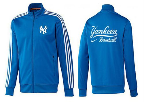 MLB New York Yankees Zip Jacket Blue_2