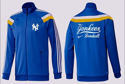 MLB New York Yankees Zip Jacket Blue_3