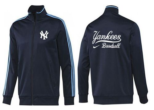 MLB New York Yankees Zip Jacket Dark Blue