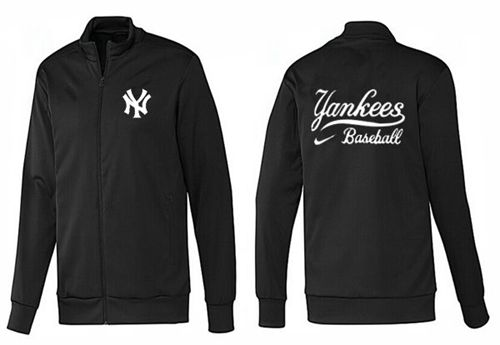 MLB New York Yankees Zip Jacket Black_1