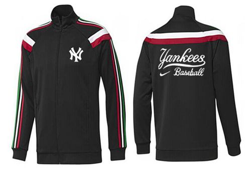 MLB New York Yankees Zip Jacket Black_2